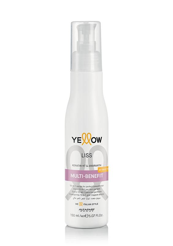 Yellow Liss Multi-benefit szérum kreppes hajra