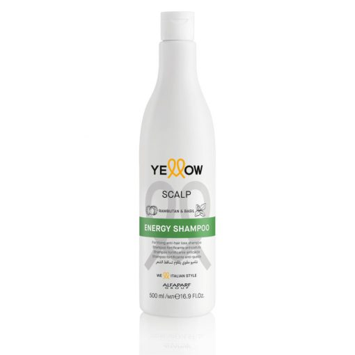 Yellow Scalp Energy hajhullás elleni sampon - 500 ml