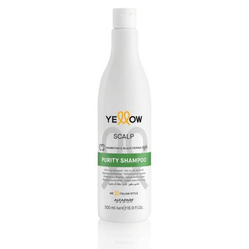 Yellow Scalp Purity tisztító sampon száraz- és zsíros korpára - 500 ml
