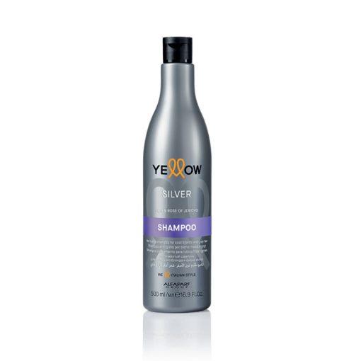 Yellow Silver anti-sárga, hamvasító sampon - 500 ml
