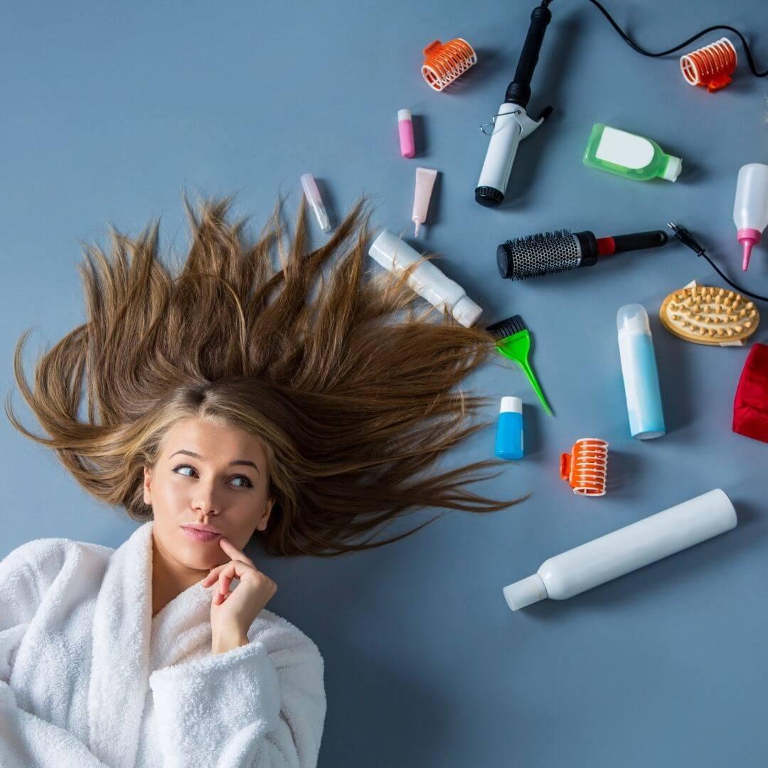 Hajápoló termékek nőknek
